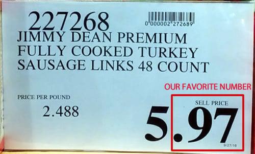 97 Price Tag