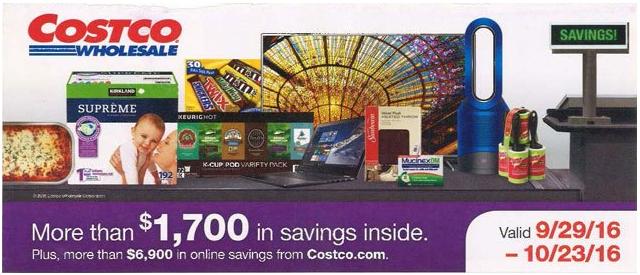 Costco Coupon Book October 2016
