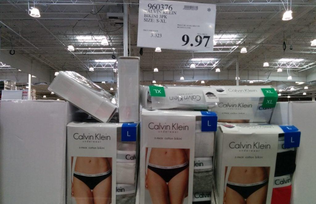 f48ced93f Calvin Klein Ladies Bikini Underwear