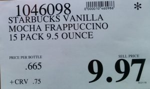 starbucks-frappuccino-price
