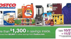 Costco Coupon Book Novembe 2016