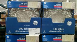GE Glitter GEM Wreath 754416