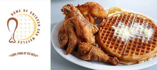 Chicken and Waffles - Yum!