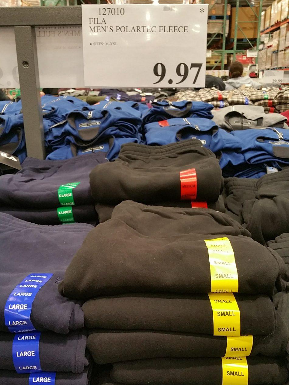 c16acc8ef Fila Men's Polartec Fleece Pants | Costco97.com