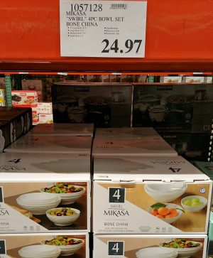 Mikasa Swirl Bowl Set 1057128