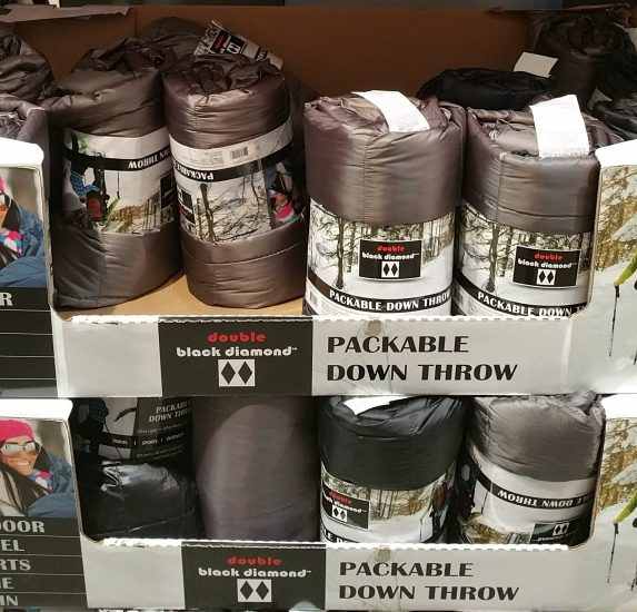 Double Black Diamond Packable Down Throw Costco97 Com