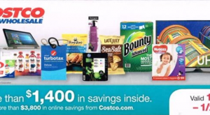 Costco Coupon Book - January 2017