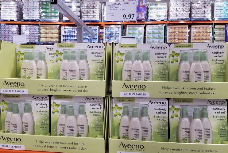 Aveeno Positively Radiant Facial Cleanser 3-Pack 6.7oz | Costco97.com
