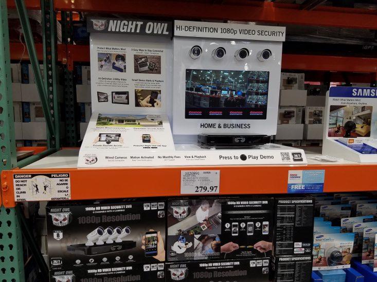 Night Owl Security System - 1020891