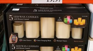 Color Changing LED Wax Candles 1036666