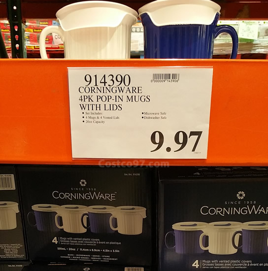 Corningware Pop-in Mugs - 914390