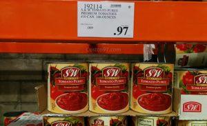 S&W Tomato Puree - 192114