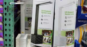 Ott LED Desk Lamp with Speaker - 1081925