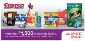 Costco February 2017 Coupon Book
