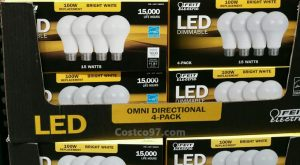 Feit Electric LED Light Bulb A -19 Omni - 645592