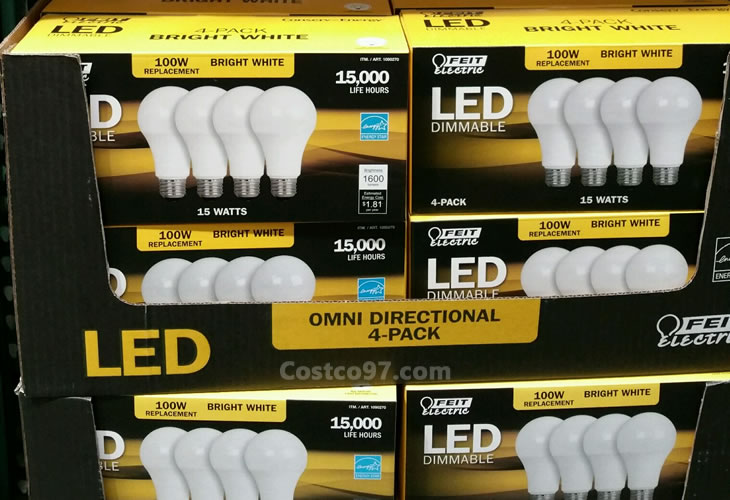Feit Electric LED Light Bulb A -19 Omni - 645592