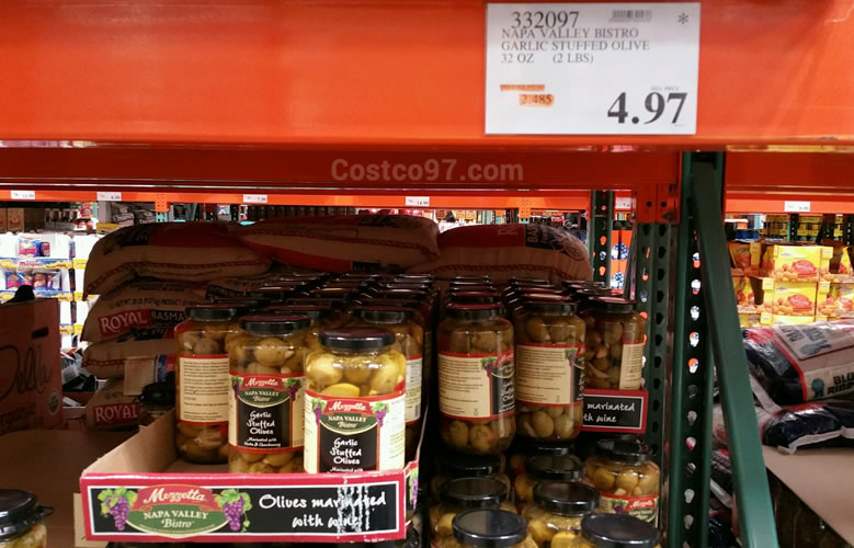 Napa Valley Bistro Garlic Stuffed Olives - 332097
