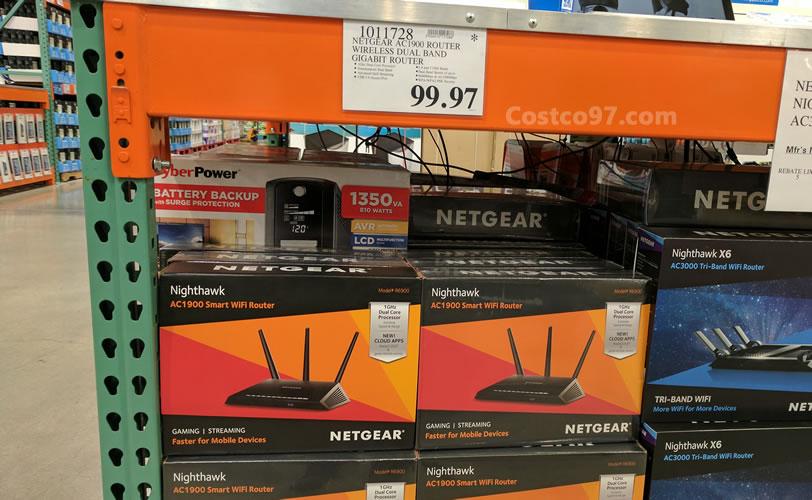 Netgear AC1900 Router Wireless Dual Band Gigabit Router - 1011728