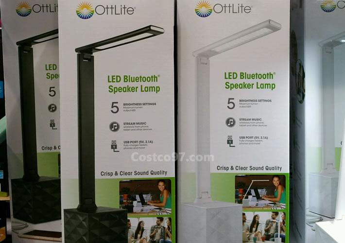 OttLite LED Desk Lamp With Speaker - 1081925