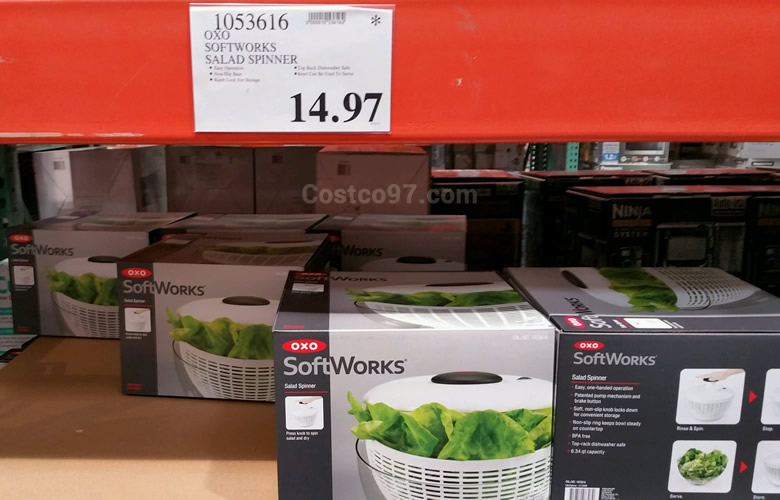 Oxo Softworks Salad Spinner | Costco97 com