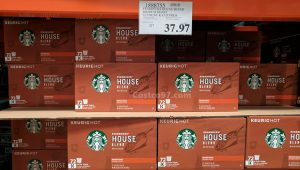 Starbucks House Blend Medium Roast 72 Count K-Cup Pods -1888755