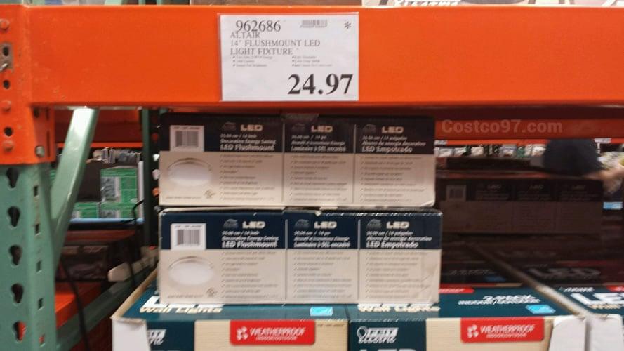 Altair Flushmount LED Light Fixture - 962686