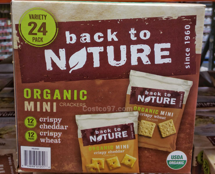 Back to Nature Mini Crackers - 1074528