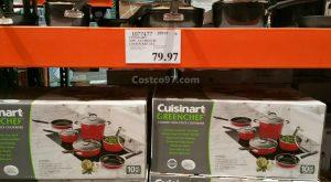 Cuisinart 10 Piece Aluminium Cookware Set - 1077477