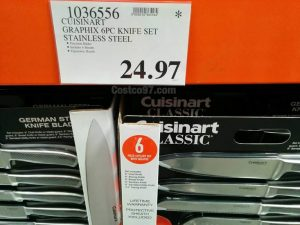 Cuisinart Graphix Knife Set - 1036556