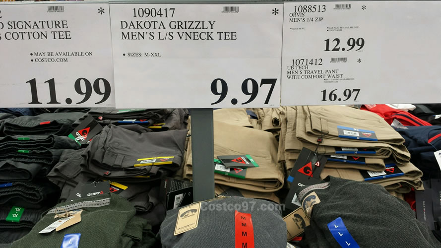 Dakota Grizzly Mens Vneck Tee - 1090417