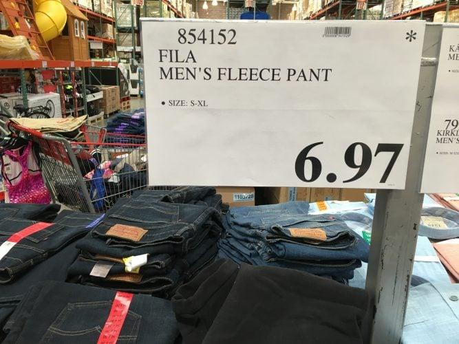Fila men's Fleece pant | Costco97.com