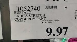 Buffalo Ladies Stretch Pant - 1052740