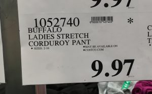 Buffalo Ladies Stretch Pant - 1052740
