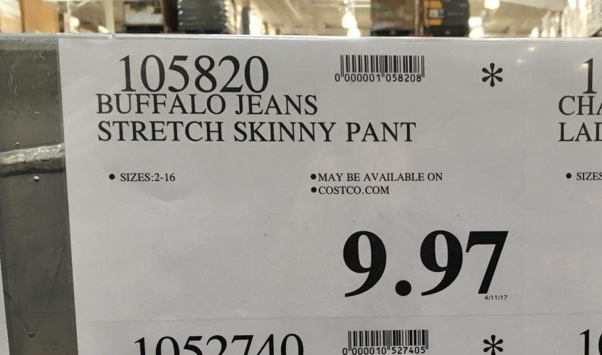 Buffalo Jeans Stretch Skinny Pant - 105820