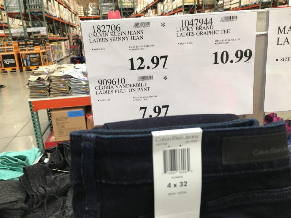 Calvin Klein Jeans Ladies Skinny Jean Costco97com