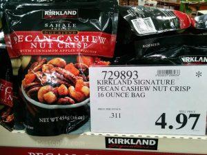 Kirkland Signature Pecan Cashew Nut Crisp - 729893