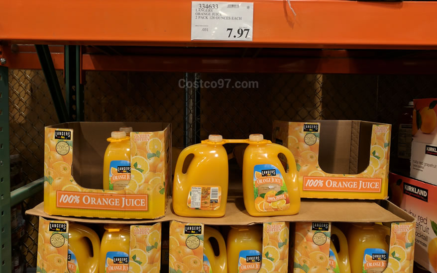 Langers Orange Juice - 334633