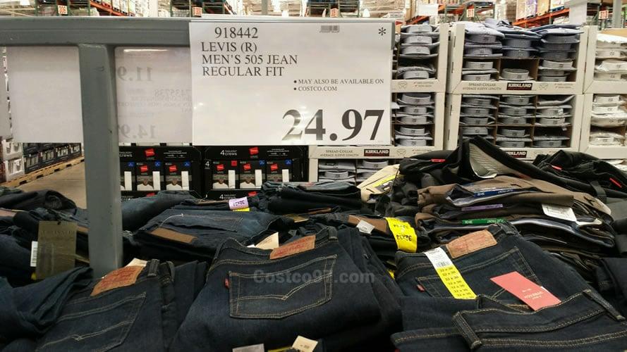Levis Mens 505 Jean Regular Fit - 918442