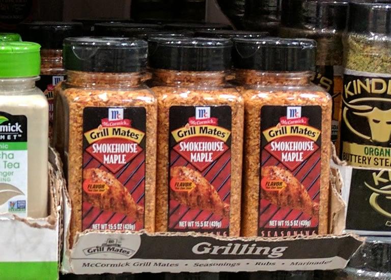 McCormick GrillMates Smokehouse Maple Seasoning - 491557