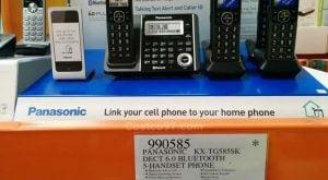 Panasonic Dect6 Bluetooth 5Handset Phone - 990585