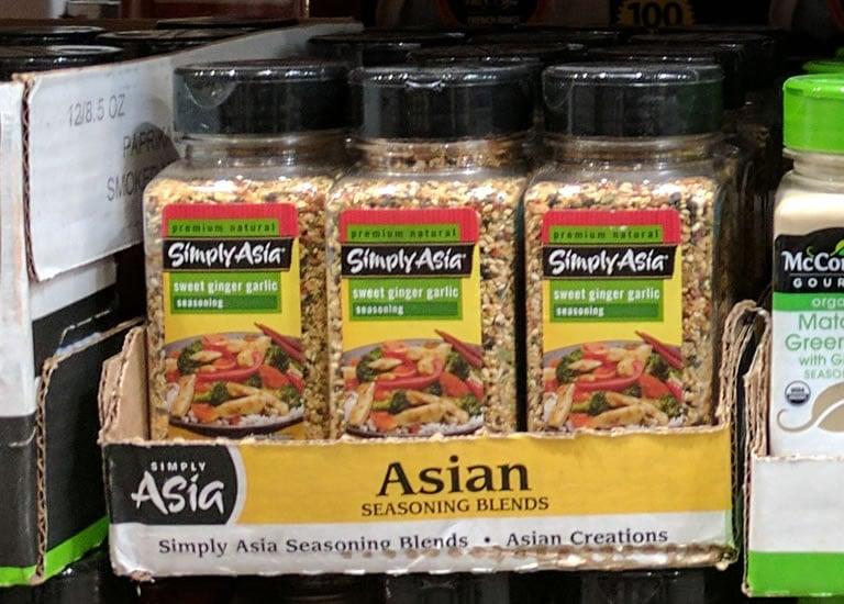 Simply Asia Sweet Ginger Garlic Seasoning Blend - 633373