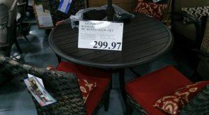 Woodard Outdoor Woven Dining Set - 1031535