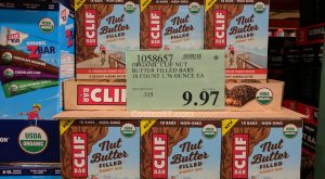 Clif Organic Nut Butter Energy Bars - 1058657