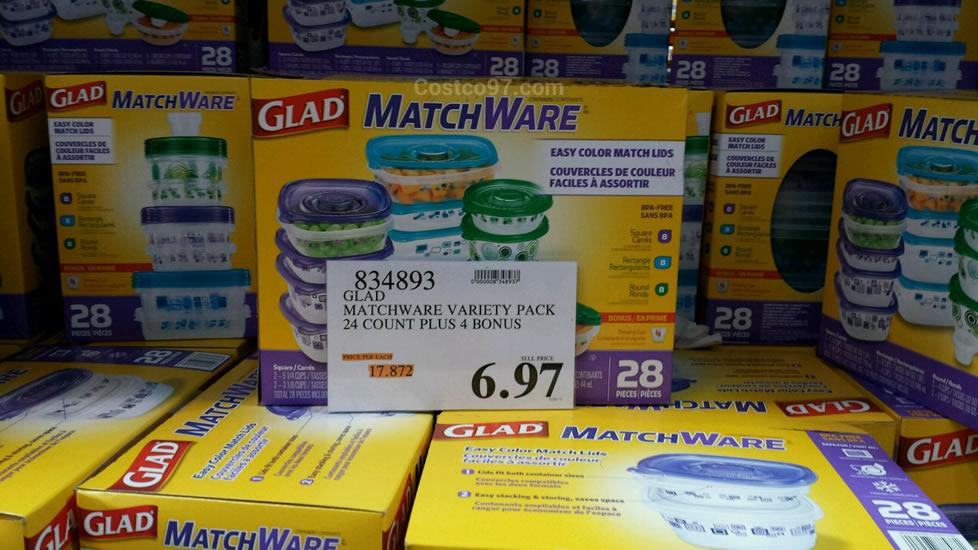 Glad Matchware Variety Pack - 834893