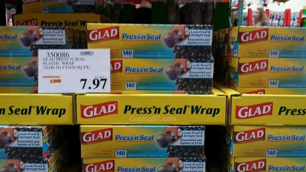 Glad Press N Seal Plastic Wrap - 350086