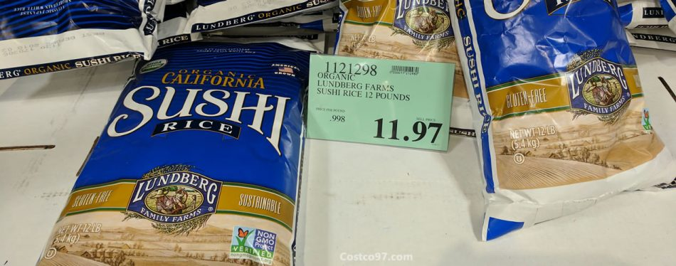 organic lundberg farms sushi rice - 1121298