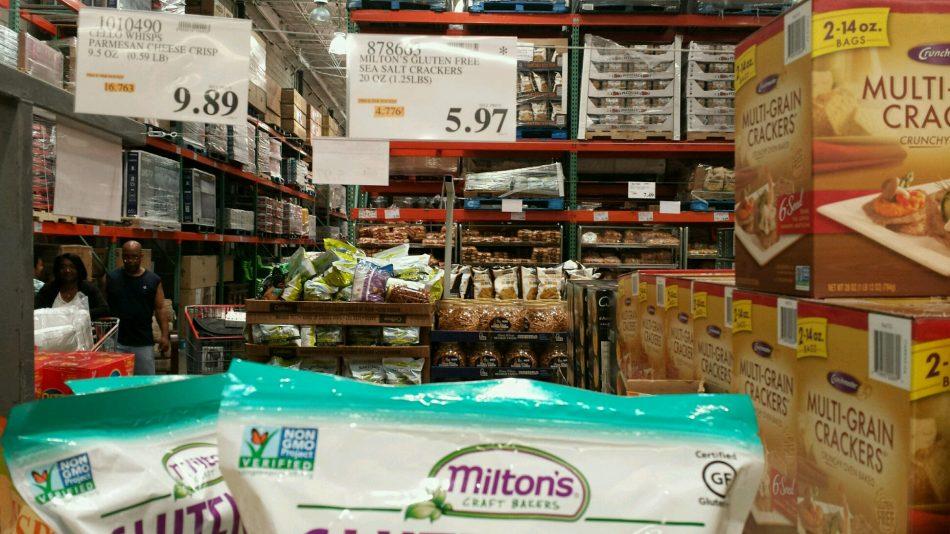 Miltons Gluten Free Sea Salt Crackers - 878663