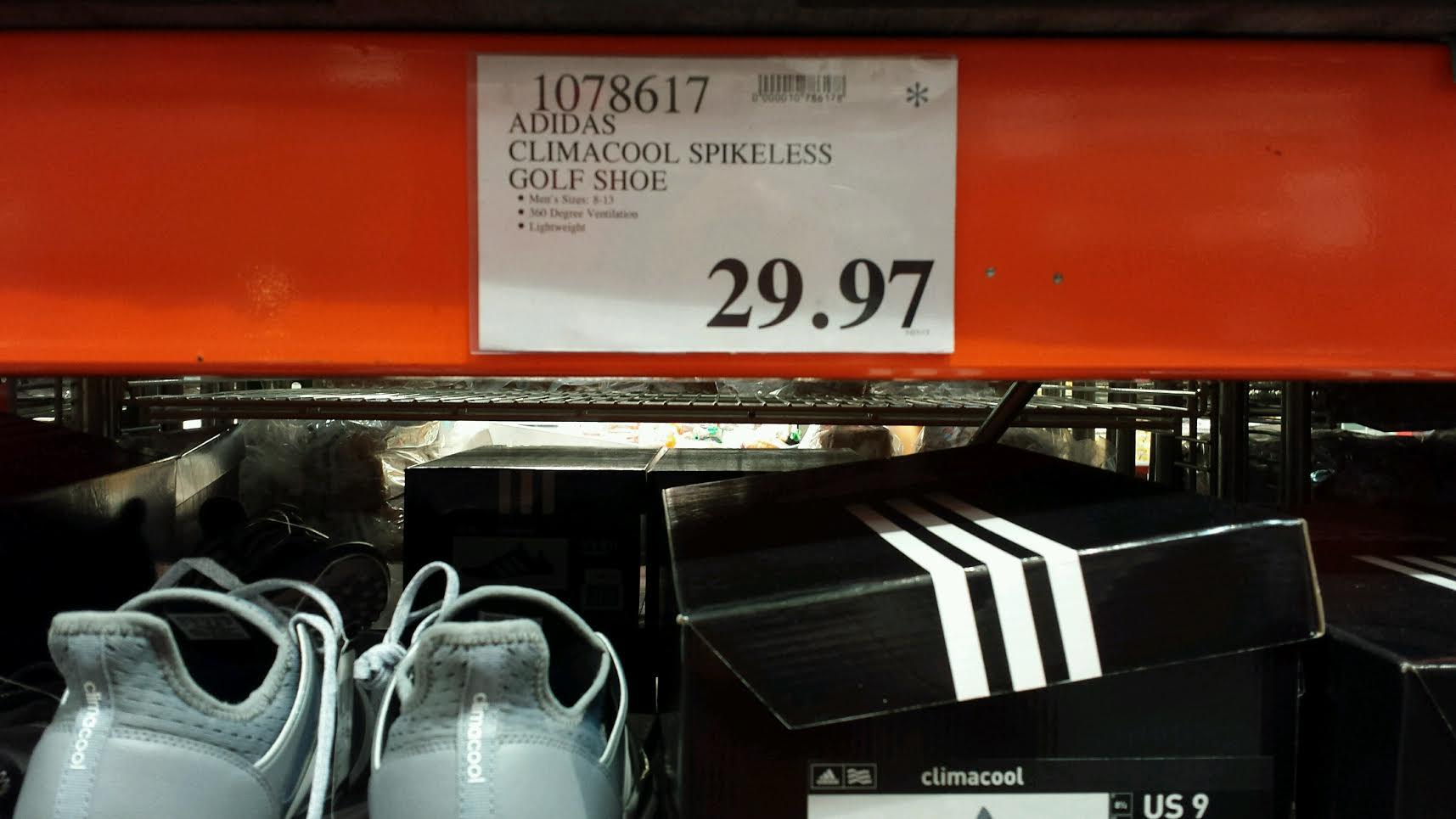 Adidas Men's Climacool Spikeless Golf Shoes | Costco97.com