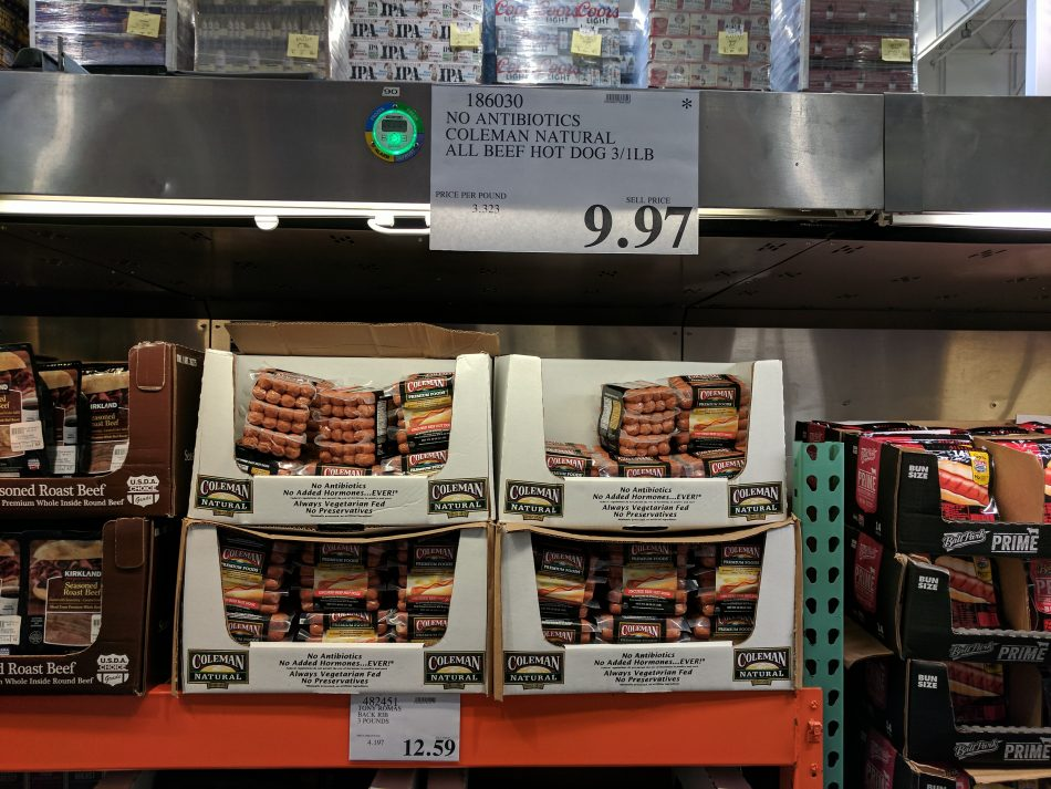 Coleman Hot Dogs Costco