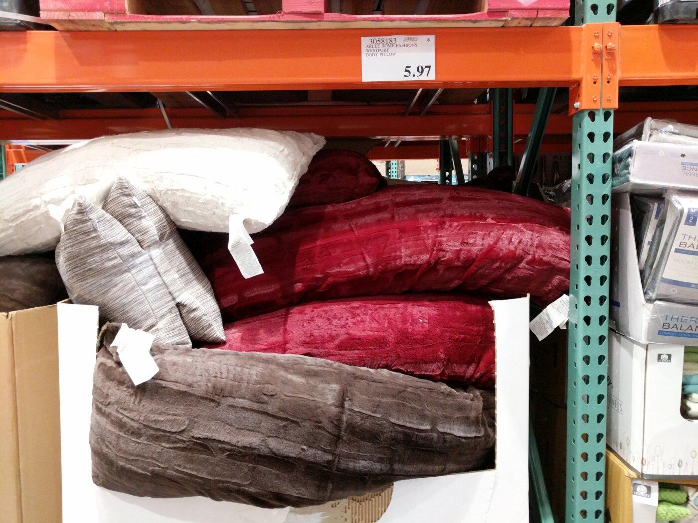 Arlee Decorative Body Pillow : Arlee Home Fashions Westport Body Pillow Costco97.com